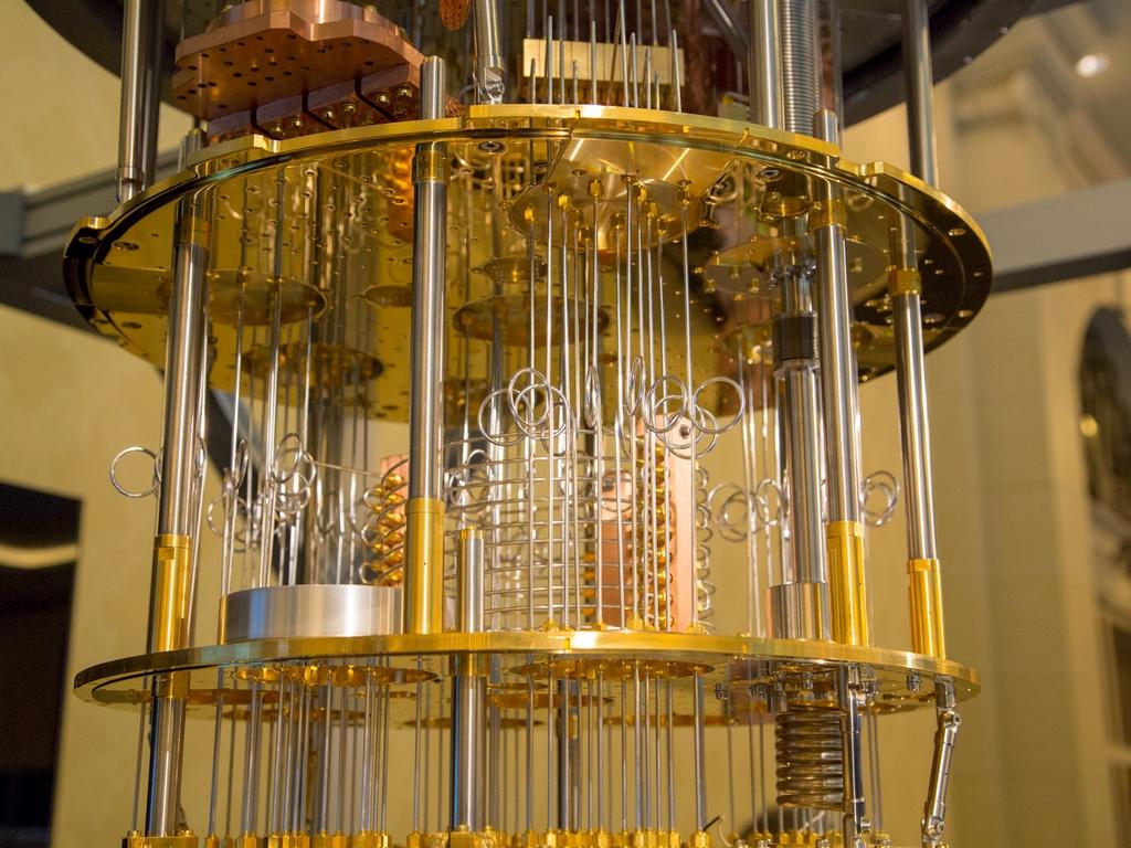 квантовый компьютер фото куриных