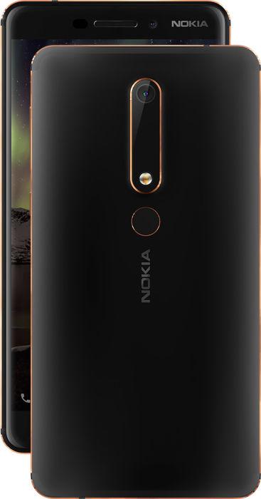Представлен смартфон Nokia 6 (2018), получивший SoC Snapdragon 630 и функцию одновременной съемки с двух камер Dual-Sight