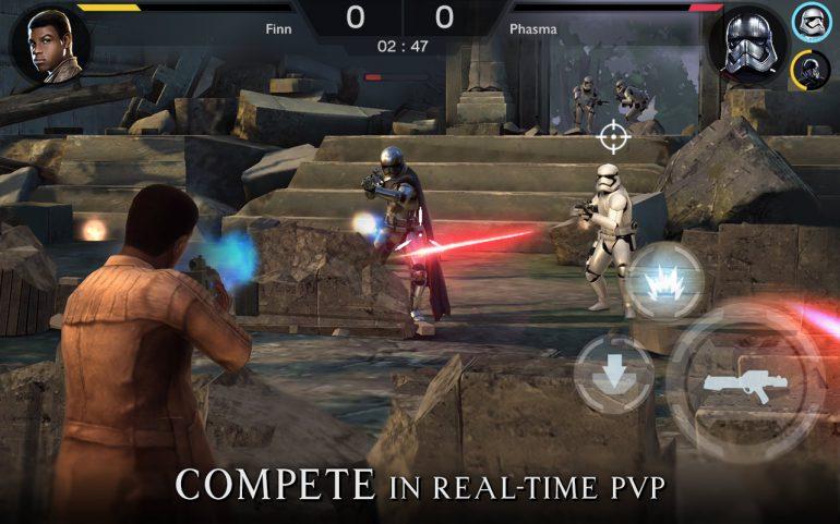 """Игры по Звездным Войнам: Star Wars: Rivals – бесплатный шутер по вселенной """"Звёздные Войны"""" для Android и iOS смартфонов"""