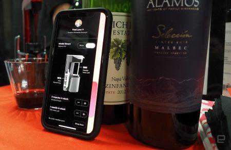 Coravin создала умное подключенное устройство для наливания вина без открытия бутылки [CES 2018]