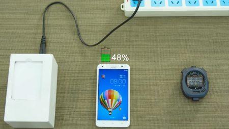 Huawei дразнит технологией сверхбыстрой зарядки, которая позволит заряжать батареи мобильных устройств на 48% за пять минут, но есть нюансы