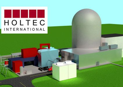 Holtec International хочет построить в Украине завод по производству малых модульных реакторов для АЭС