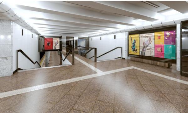 Как будет выглядеть станция метро «Святошино» после ремонта