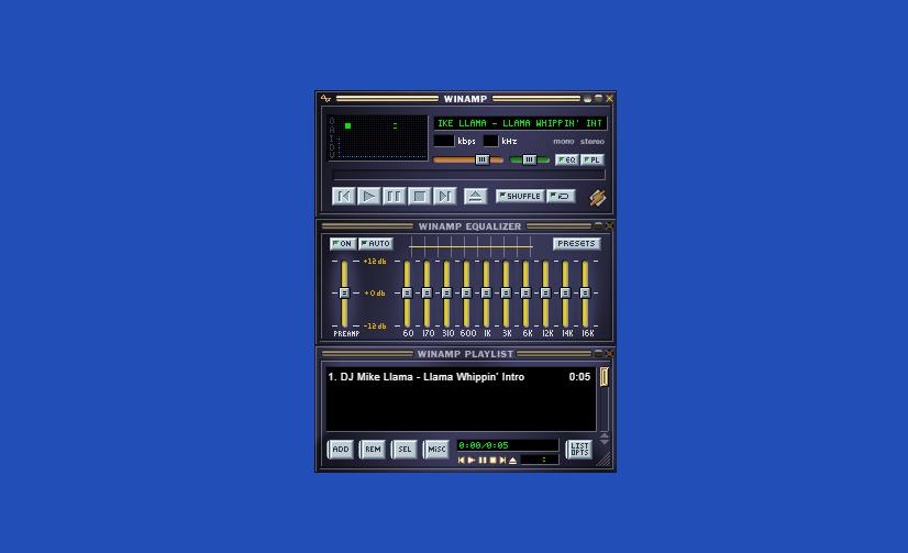 Калифорнийский разработчик возродил легендарный музыкальный плеер Winamp