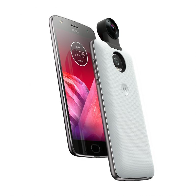 В Украине стартовали продажи Motorola Moto Z2 Force с небьющимся экраном и поддержкой модулей Moto Mods по цене 17995 грн