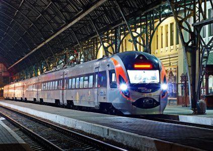 """Ђ""""крзал≥зниц¤ї внедр¤ет электронные билеты дл¤ региональных поездов"""