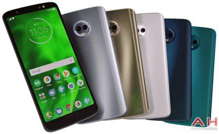 Новое изображение демонстрирует все цветовые варианты смартфона Moto G6 Plus