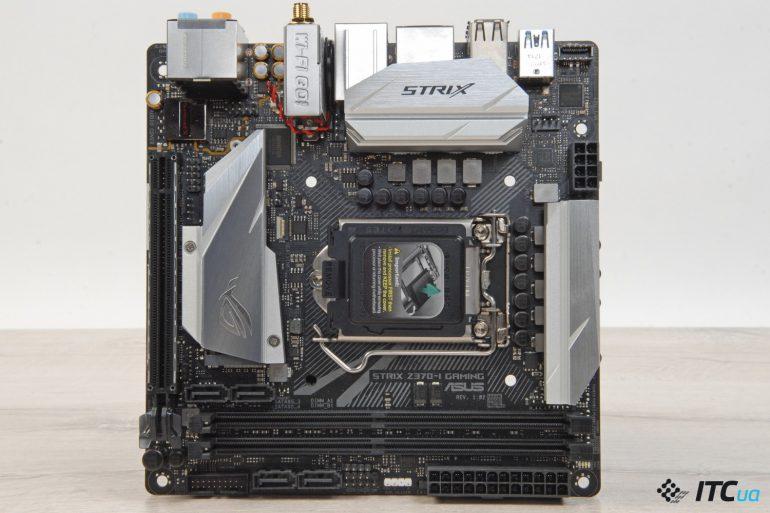 Обзор платы ASUS ROG STRIX Z370-I GAMING: компактный формат для Coffee Lake - ITC.ua