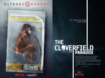 За первую неделю фильм The Cloverfield Paradox посмотрели всего 5 млн, а сериал Altered Carbon — 6 млн подписчиков Netflix (это в разы хуже, чем у Bright и Stranger Things)