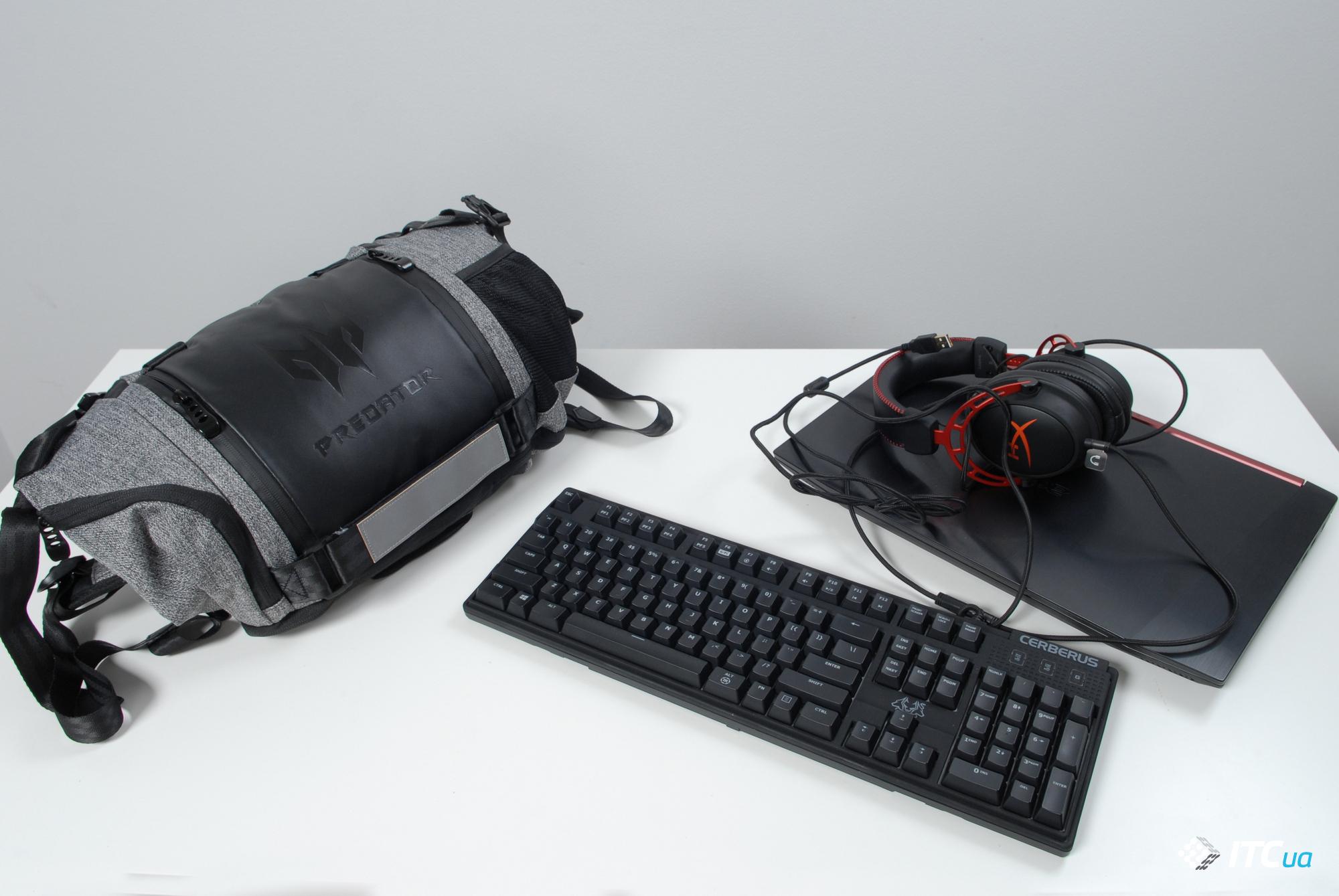 Обзор рюкзака Acer Predator Gaming Rolltop Backpack