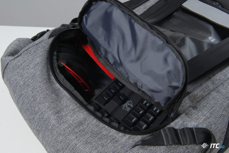 Обзор рюкзака Acer Predator Gaming Rolltop Backpack - ITC.ua
