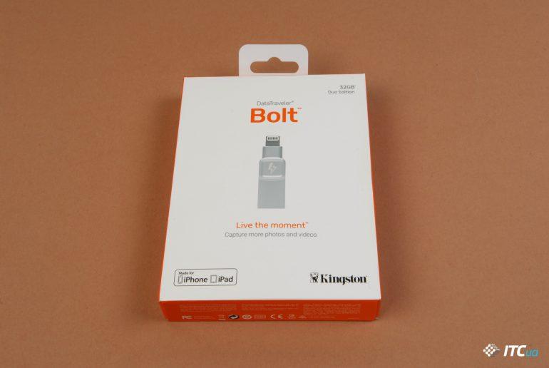 Экспресс-обзор iOS-накопителя Kingston DataTraveler Bolt - ITC.ua