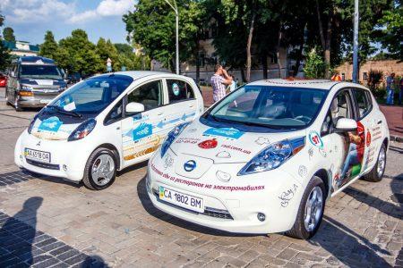 В минувшем месяце в Украине было ввезено в шесть раз больше электромобилей, чем годом ранее