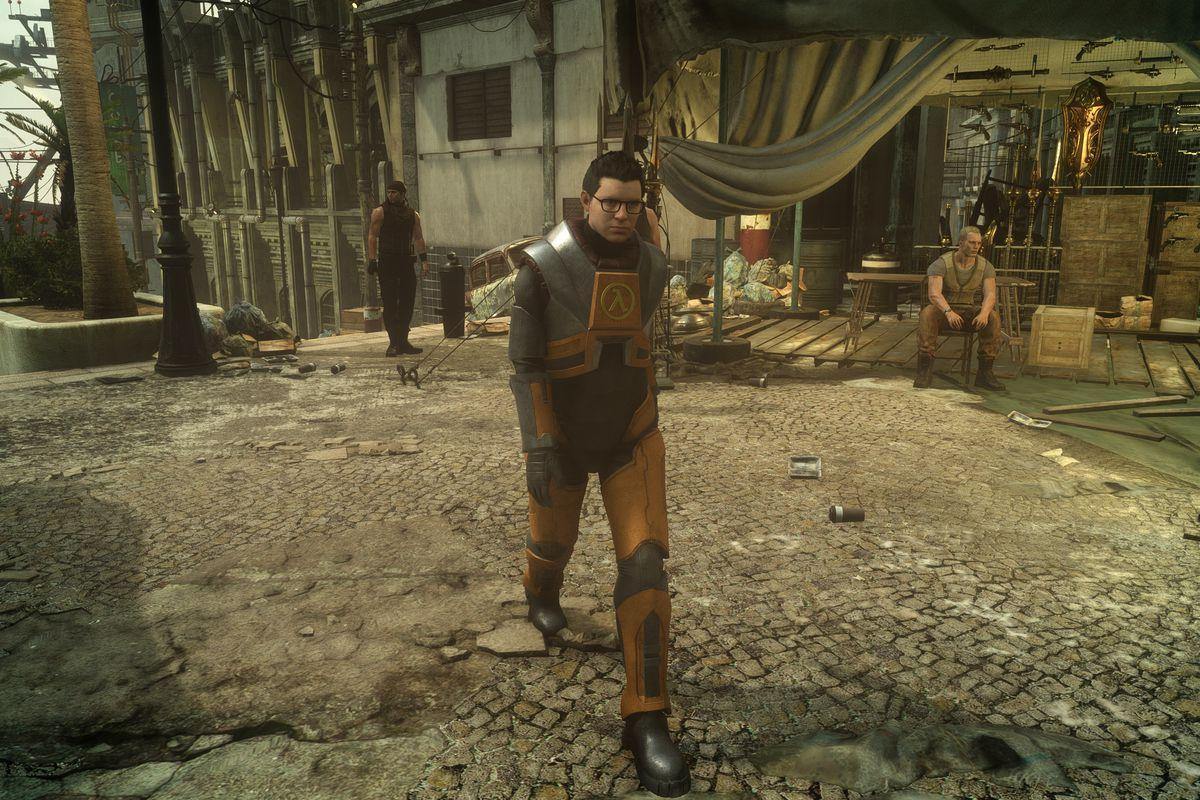 В Final Fantasy XV для ПК будет костюм Гордона Фримена из Half Life и демо-версия с первой главой