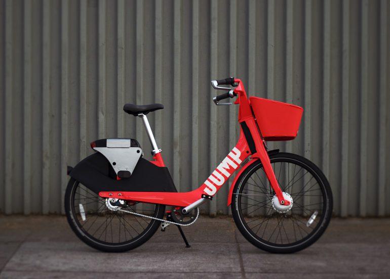 Uber стала собственником сервиса Jump Bikes для проката электровелосипедов