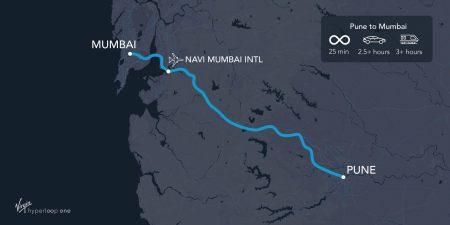 Virgin Hyperloop One объявила о планах по строительству пассажирской системы в Индии, тестовый участок откроют к 2021 году