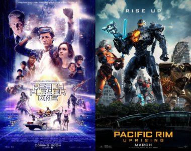 Новые трейлеры фантастических фильмов Ready Player One и Pacific Rim: Uprising, которые выходят в кинотеатрах уже в марте 2018 года