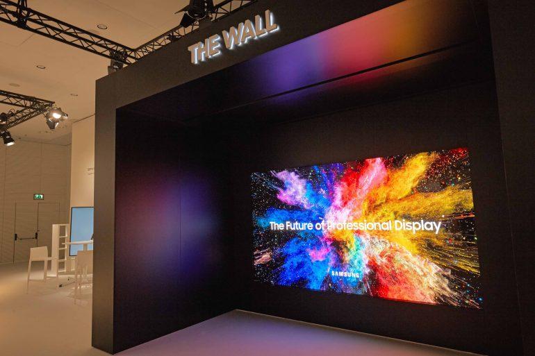 Samsung представил крупноформатный модульный MicroLED-дисплей The Wall и улучшенный экран 3D Cinema LED для кинотеатров
