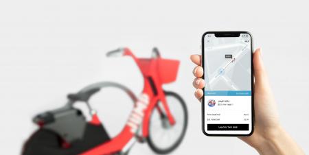 Uber запустил сервис проката электровелосипедов Uber Bike в Сан-Франциско. Услуга стоит $2 за 30 минут, а велосипед Jump можно оставить практически в любом месте