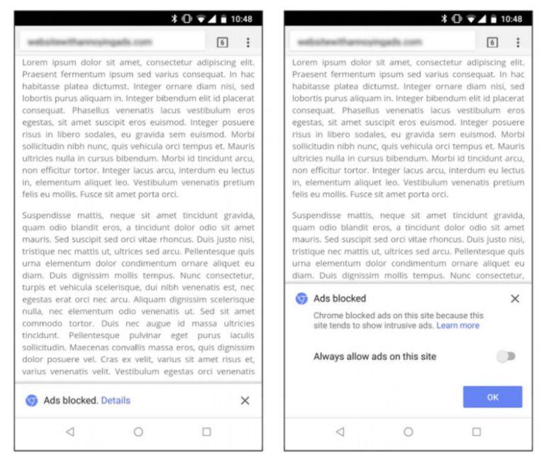 Завтра в браузере Google Chrome появится собственный блокировщик рекламы - ITC.ua