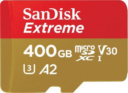 Western Digital представила самую быструю в своем классе карту памяти microSD объемом 400 ГБ