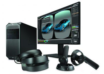 HP создала несколько VR продуктов для профессиональных создателей контента