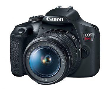 Canon представила бюджетную зеркалку EOS 1400D (Rebel T7) разрешением 24,1 Мп и автоматизированную вспышку Speedlite 470EX-AI с ИИ