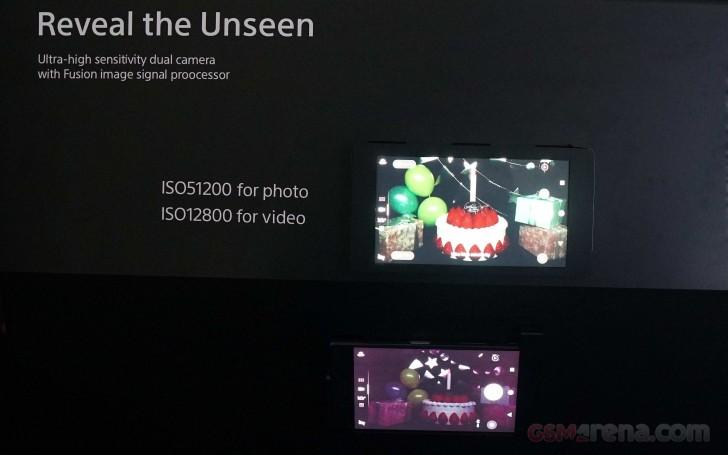 Sony показала сдвоенную камеру для смартфонов, которая позволит снимать при ISO 51200