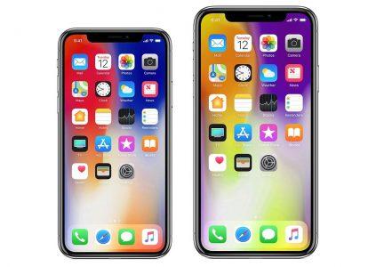 """Bloomberg: Apple разрабатывает """"гигантский"""" смартфон iPhone X Plus с 6,5-дюймовым OLED-экраном (2688Ч1242 точек), поддержкой двух SIM-карт и """"золотой"""" версией оформления"""