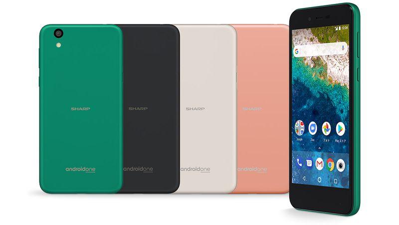 Sharp анонсировала смартфон врамках проекта андроид One