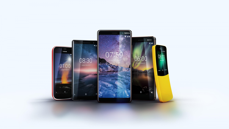 'лагманы Nokia на MWC 2018: —ередн¤чок Nokia 7 Plus за И399 и имиджевый Nokia 8 Sirocco за И749