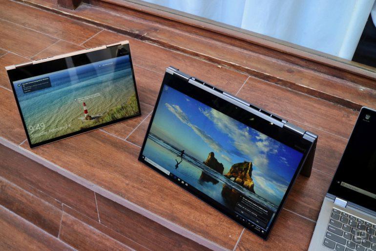 Lenovo показала гибридный ноутбук Yoga 730 с поддержкой Cortana и Alexa - ITC.ua