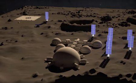 КБ «Южное» разрабатывает проекты космического корабля и постоянно действующей лунной базы