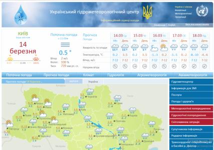 На сайте украинского Гидрометцентра заметили JavaScript-майнер криптовалюты CoinHive (он уже удален)