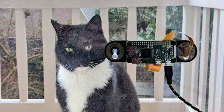 Программист из Амстердама сделал систему распознавания морды своего кота, чтобы узнавать, когда животное хочет домой