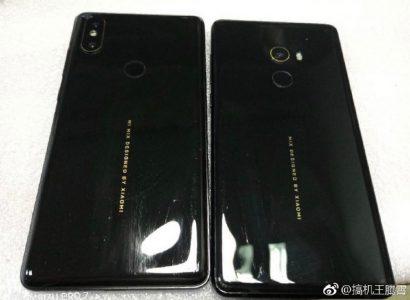 Новое реальное фото Xiaomi Mi Mix 2S подтверждает вертикальную сдвоенную камеру и дактилоскопический датчик на задней панели