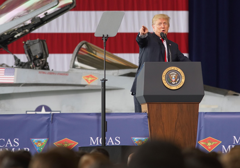 Трамп предложил создать в США новый род войск – «Космические силы»