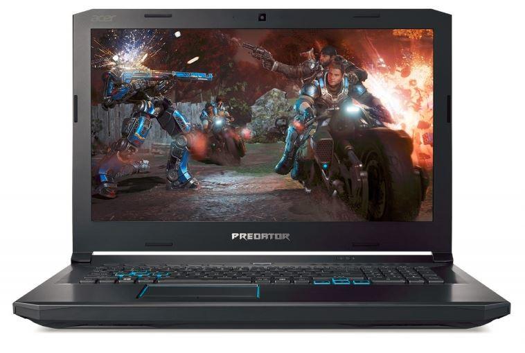 Acer оснастит свой новый 17-дюймовый геймерский ноутбук Predator Helios 500 шестиядерным процессором Intel Core i9-8950HK (4,8 ГГц)