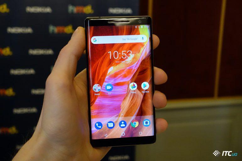 Первый взгляд на Nokia 7 Plus, Nokia 8 Sirocco и New Nokia 6 - ITC.ua