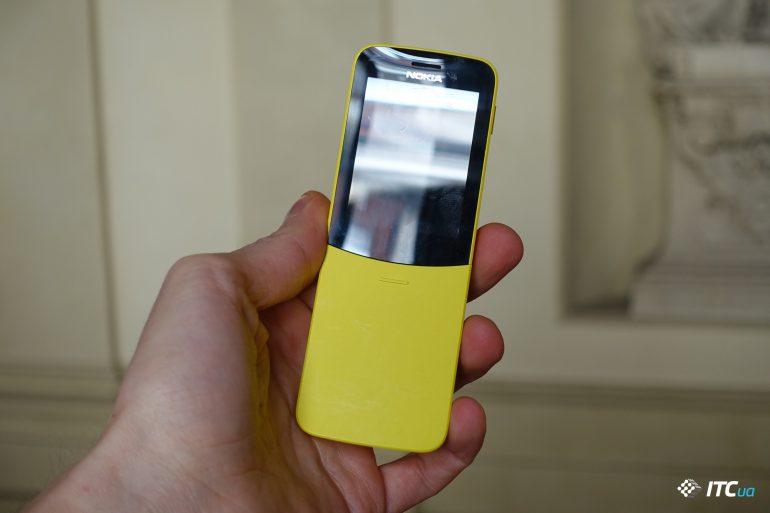 Первый взгляд на «банан» Nokia 8110 4G и Nokia 1