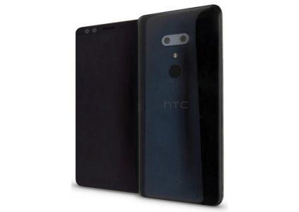 Первое изображение смартфона HTC U12+ демонстрирует отсутствие выреза вверху экрана и горизонтальную сдвоенную камеру