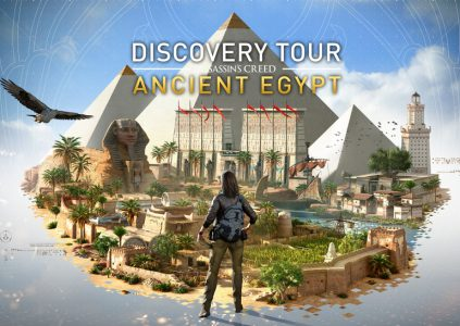 Discovery Tour by AssassinТs Creed: Ancient Egypt Ц селфи на фоне пирамид