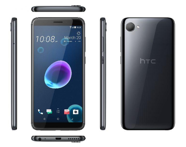 HTC Desire 12 иDesire 12+: мобильные телефоны среднего уровня с дисплеем HD+