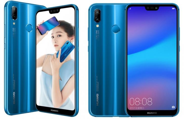 Huawei Nova 3e с24-Мп селфи камерой представлен официально