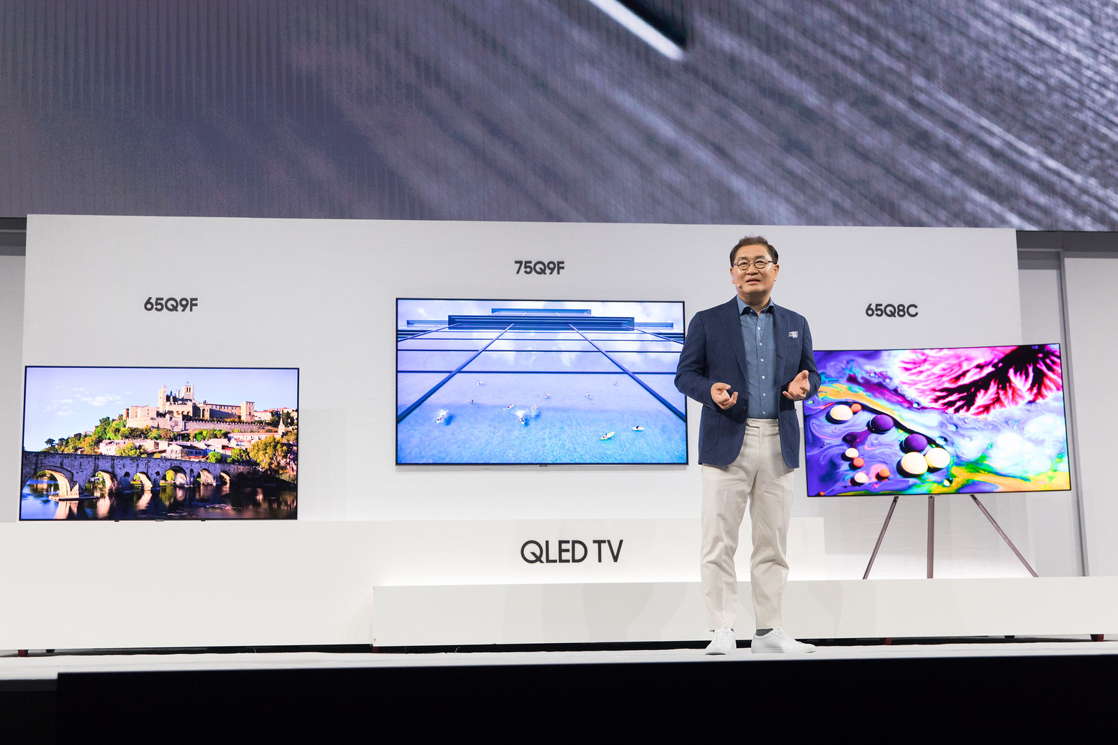 Самсунг презентовал новейшую линейку телевизоров QLED