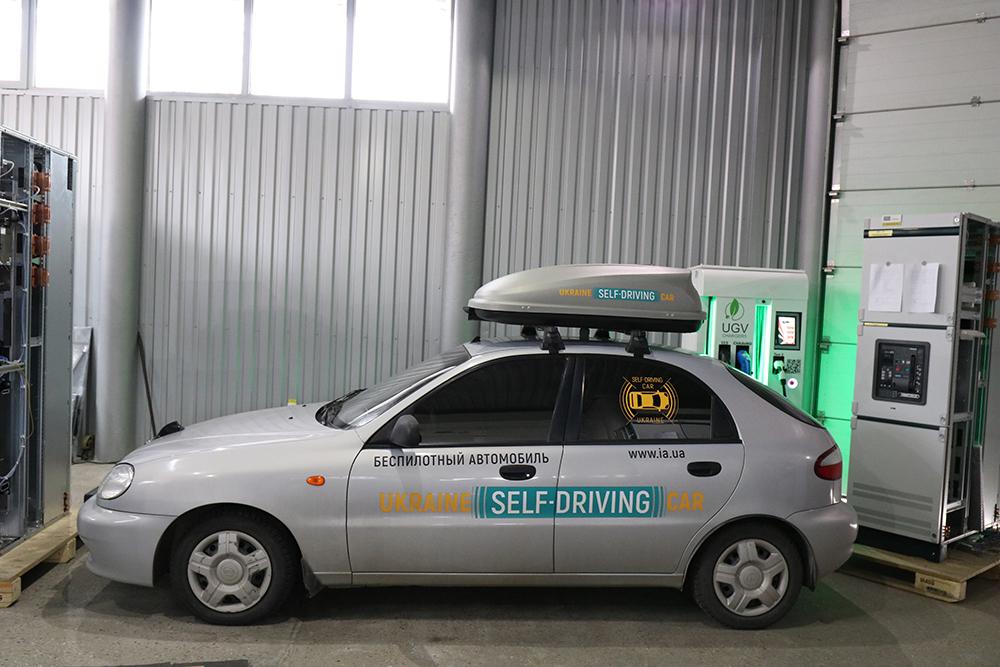 ВЗапорожье создали беспилотный Lanos, который может ездить без водителя