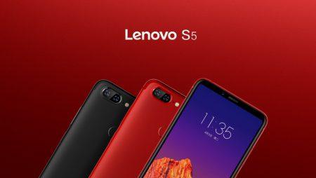 Lenovo S5 — металлический смартфон с полноэкранным дизайном, сдвоенной камерой, сканером лица и SoC Snapdragon 625 стоимостью $160