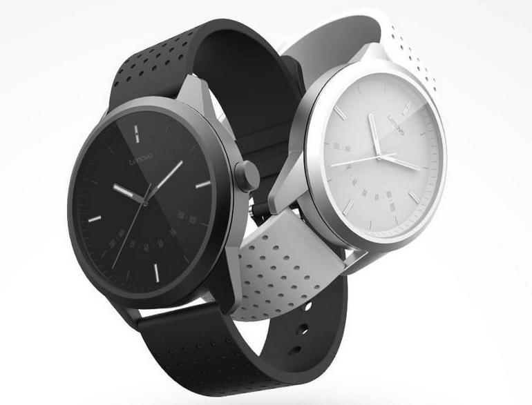 Lenovo представила свои первые «умные» часы смеханическим хронометром