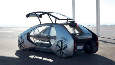 Renault EZ-GO — концепт электрического «робомобиля-сервиса» для использования в качестве городского общественного транспорта будущего