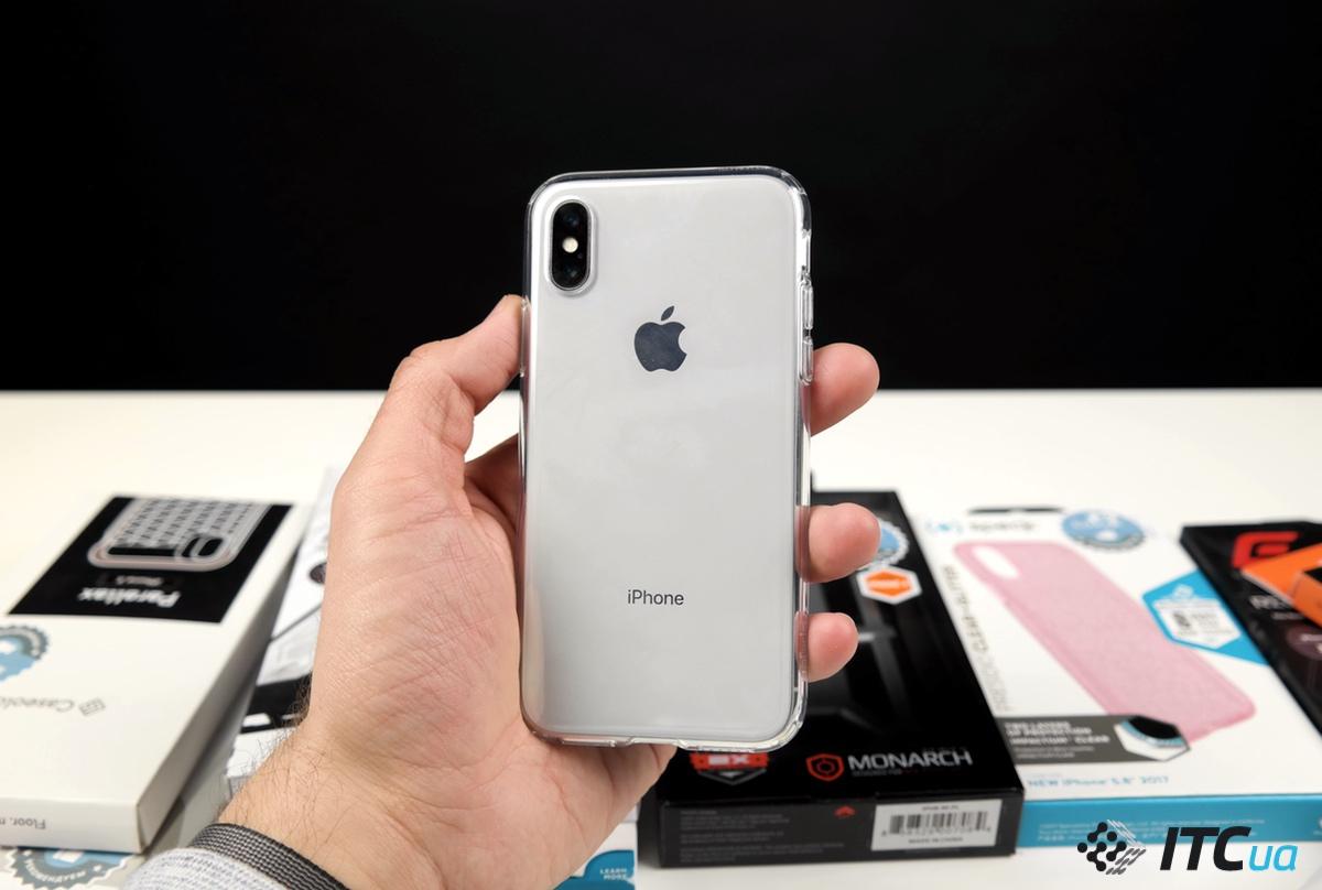 Выбираем защитный чехол для iPhone X